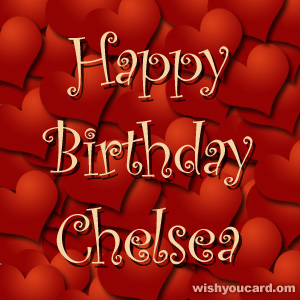 Say happy birthday to Chelsea with these free greeting cards